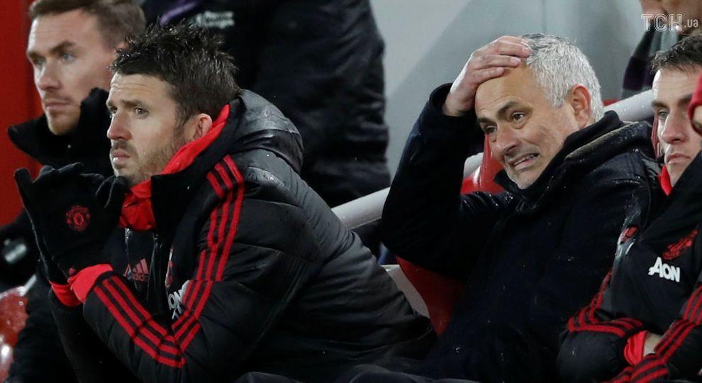 """Официально. """"Манчестер Юнайтед"""" отправил Моуринью в отставку"""