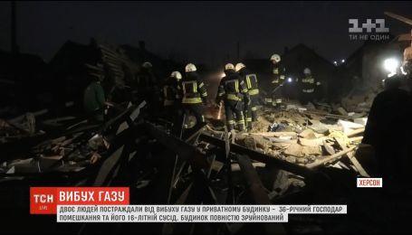 Хозяин дома, взорвавшегося в Херсоне, находится в тяжелом состоянии