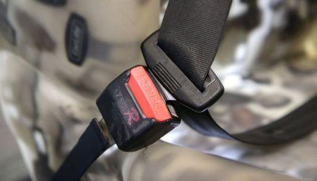 Нардепи провалили голосування про шалені штрафи за непристебнутий ремінь безпеки