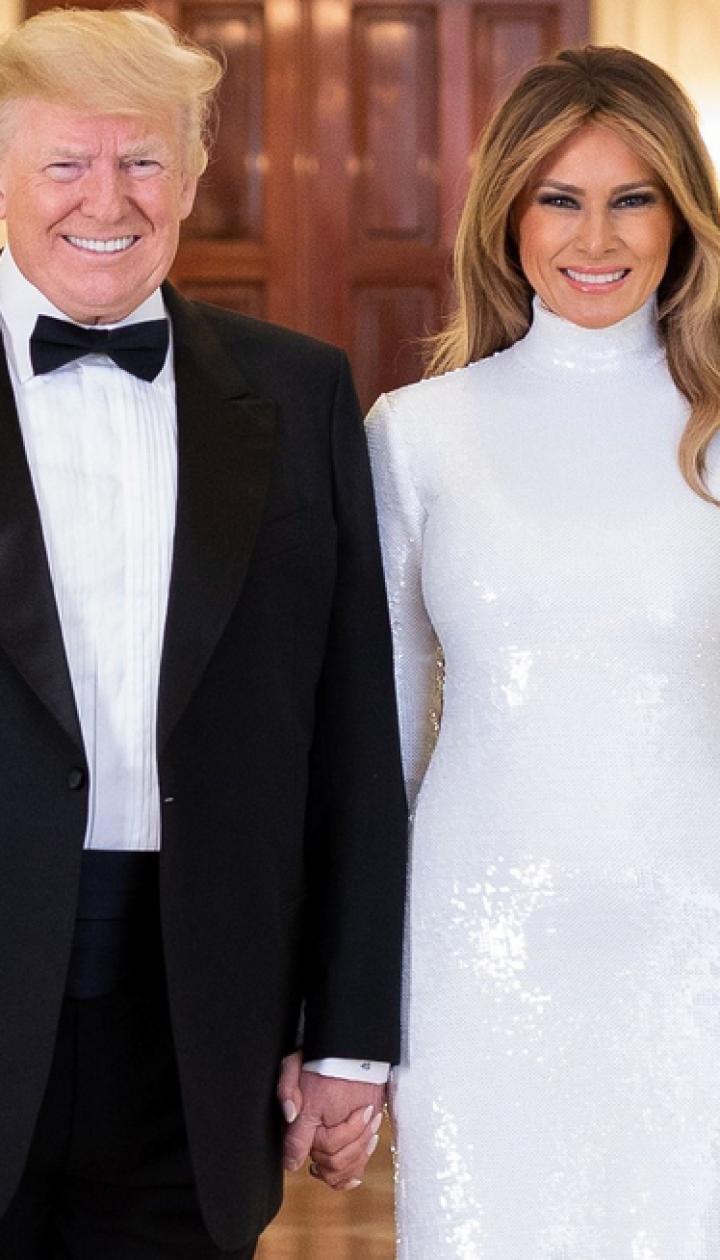 Дональд и Мелания Трамп/Фото Андреа Хэнкса