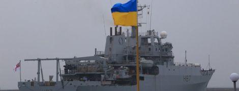 Через конфлікт у Керченській протоці до України прибув перший військовий корабель НАТО