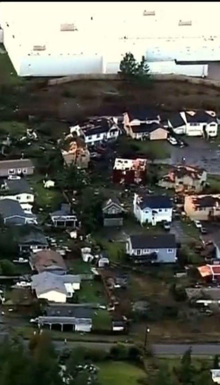 Разрушительный торнадо пронесся американским штатом Вашингтон