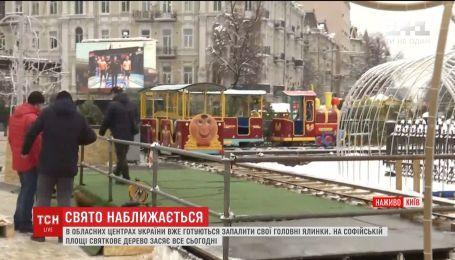Полярный экспресс и рождественский городок: в Киеве вечером официально зажгут праздничные огни
