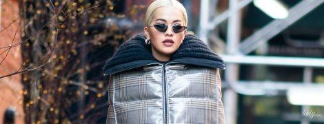 Экстравагантно и дорого: Рита Ора надела юбку почти за две тысячи долларов