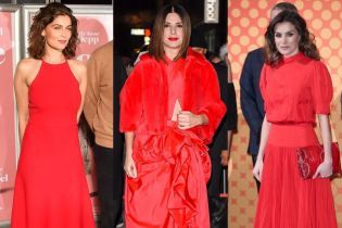 Битва червоних вбрань: Сандра Буллок Летиція Каста і королева Летиція