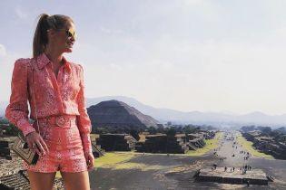 В коротких шортах і кедах: леді Кітті Спенсер подорожує Мексикою