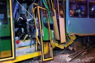 У Познані 14 осіб постраждало унаслідок зіткнення трьох трамваїв