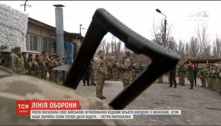 Російські танки за 18 кілометрів від українського кордону - Порошенко