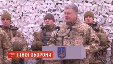 Росія посилила військову присутність на кордоні з Україною - Порошенко
