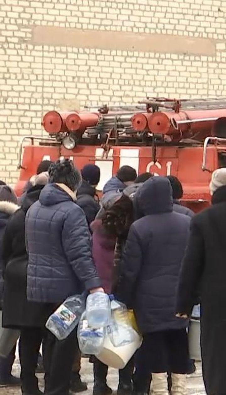 У Торецьку оголосили надзвичайний стан через обстріл бойовиками водогону