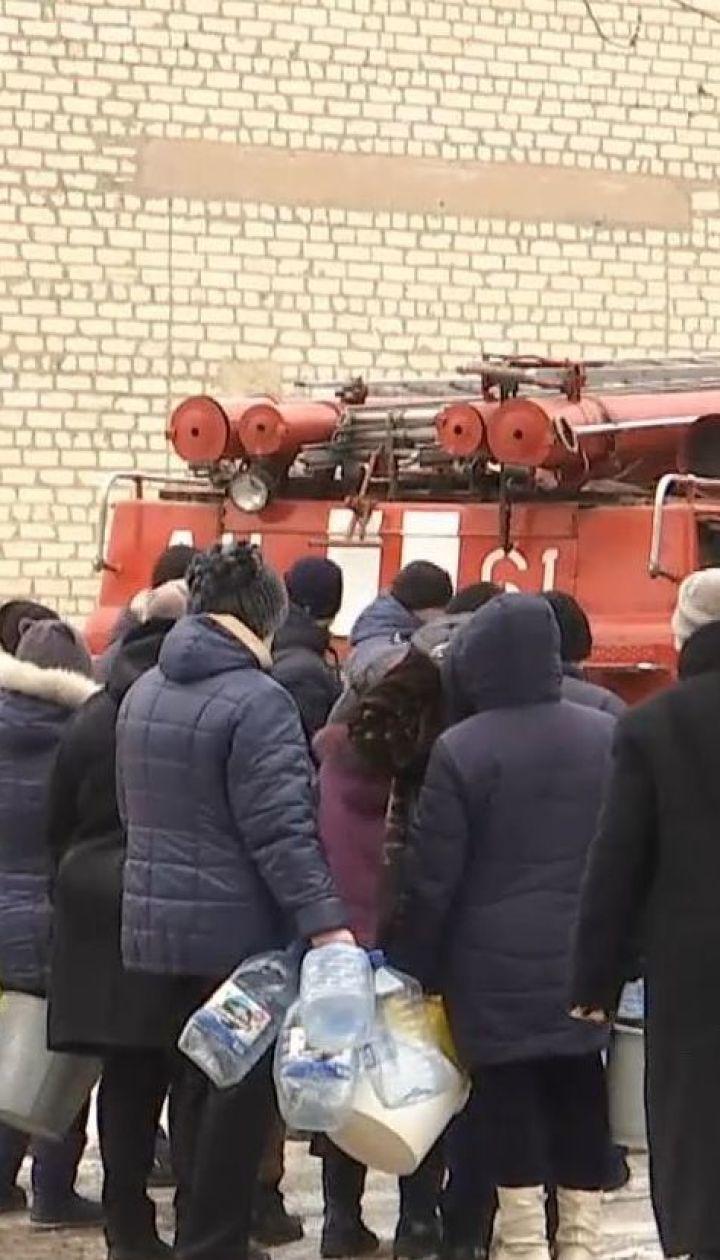 В Торецке объявили чрезвычайное положение из-за обстрела боевиками водопровода
