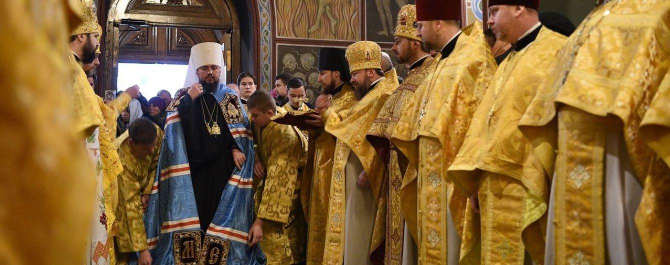 Філарет уперше від створення ПЦУ прийшов на службу до Епіфанія і не згадав про УПЦ КП