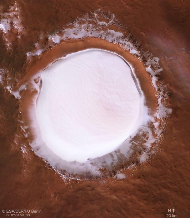 Кратер на Марсі