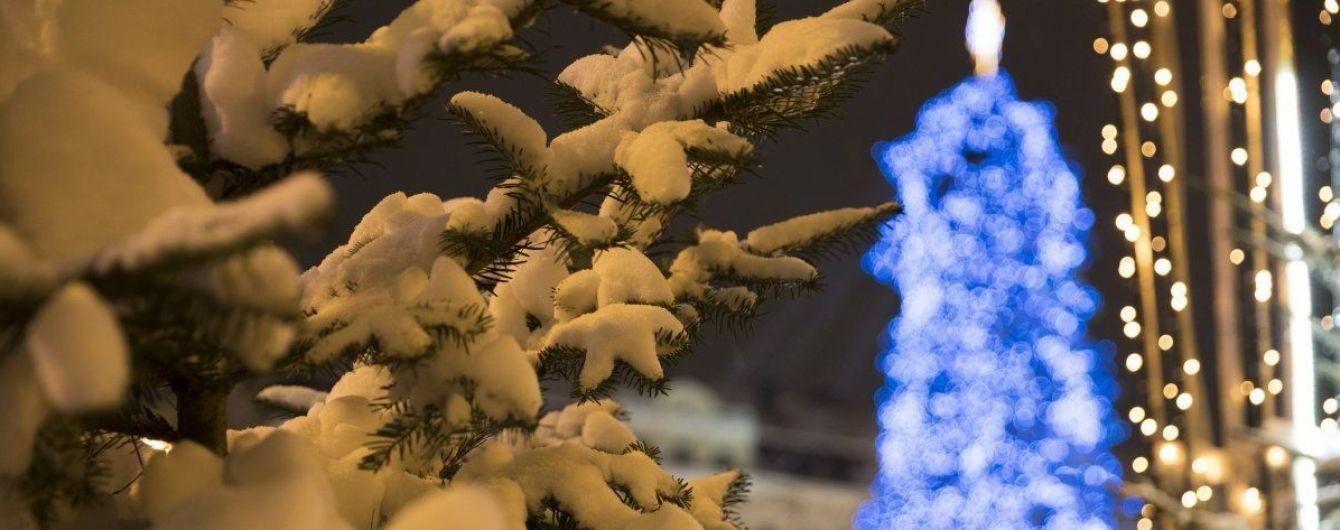 В центре Киева ограничат движение на новогодние и рождественские праздники