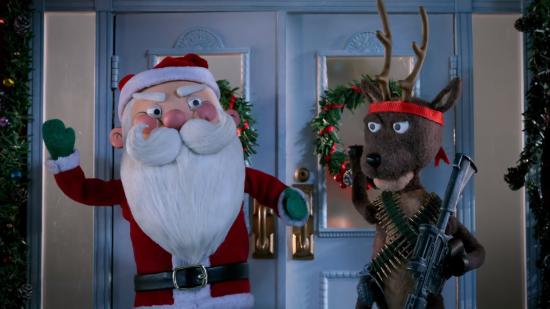 Ельфи та олені з автоматами воюють з Хижаком. 20th Century Fox зняла жорстокий мультик до Різдва