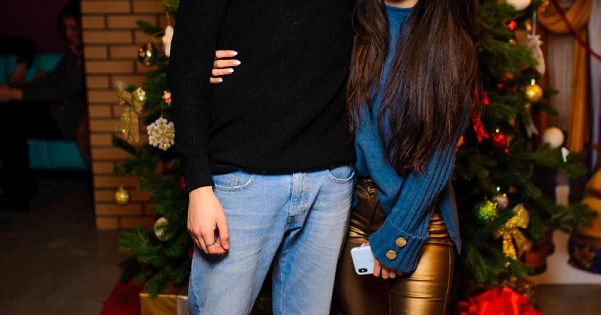 "Анна Трінчер з хлопцем Богданом Осадчуком @ Кінотеатр ""Оскар"""