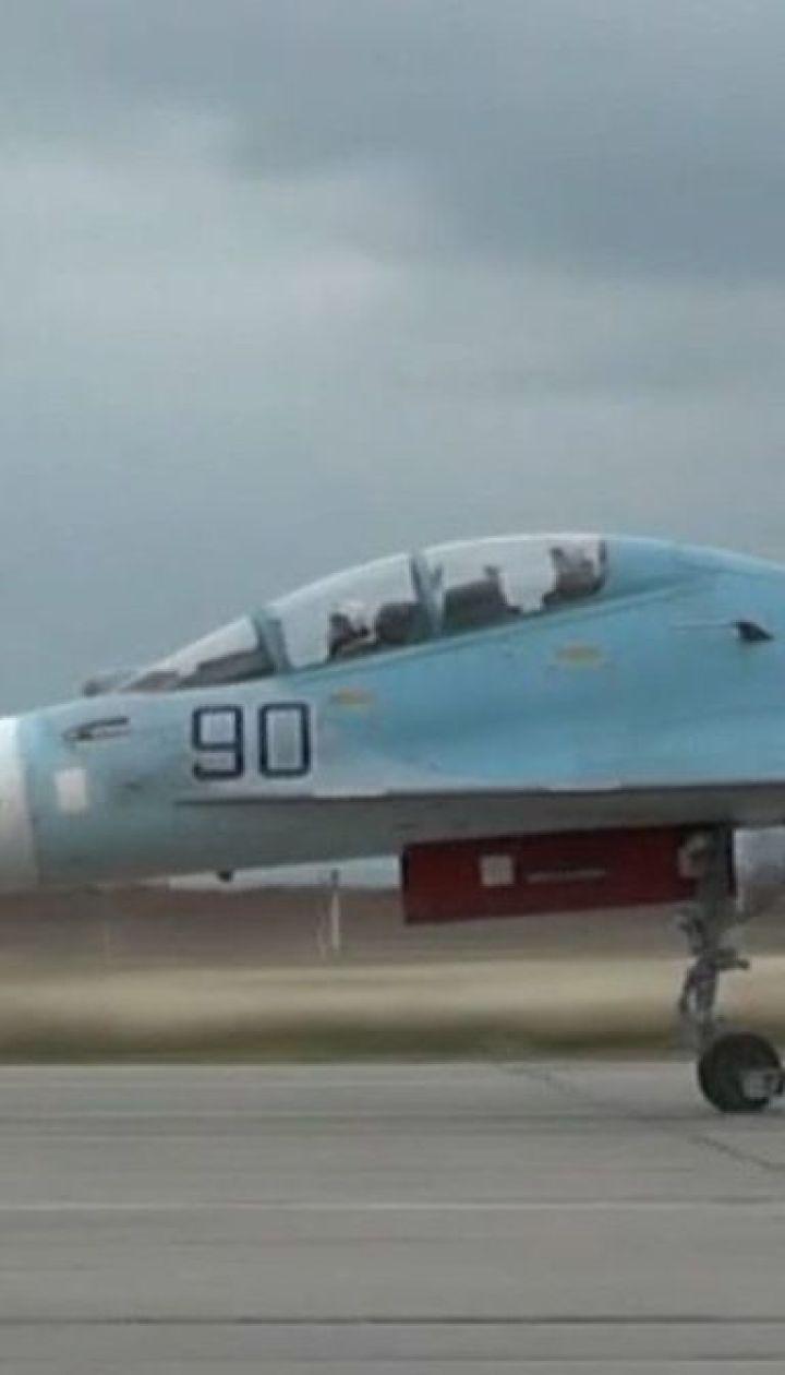 """Более десятка российских истребителей прибыли на авиабазу """"Бельбек"""" в Севастополе"""