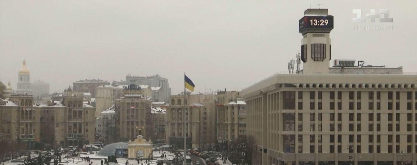 На Майдані Незалежності відновив роботу головний годинник України ... a744c89c4e4fb