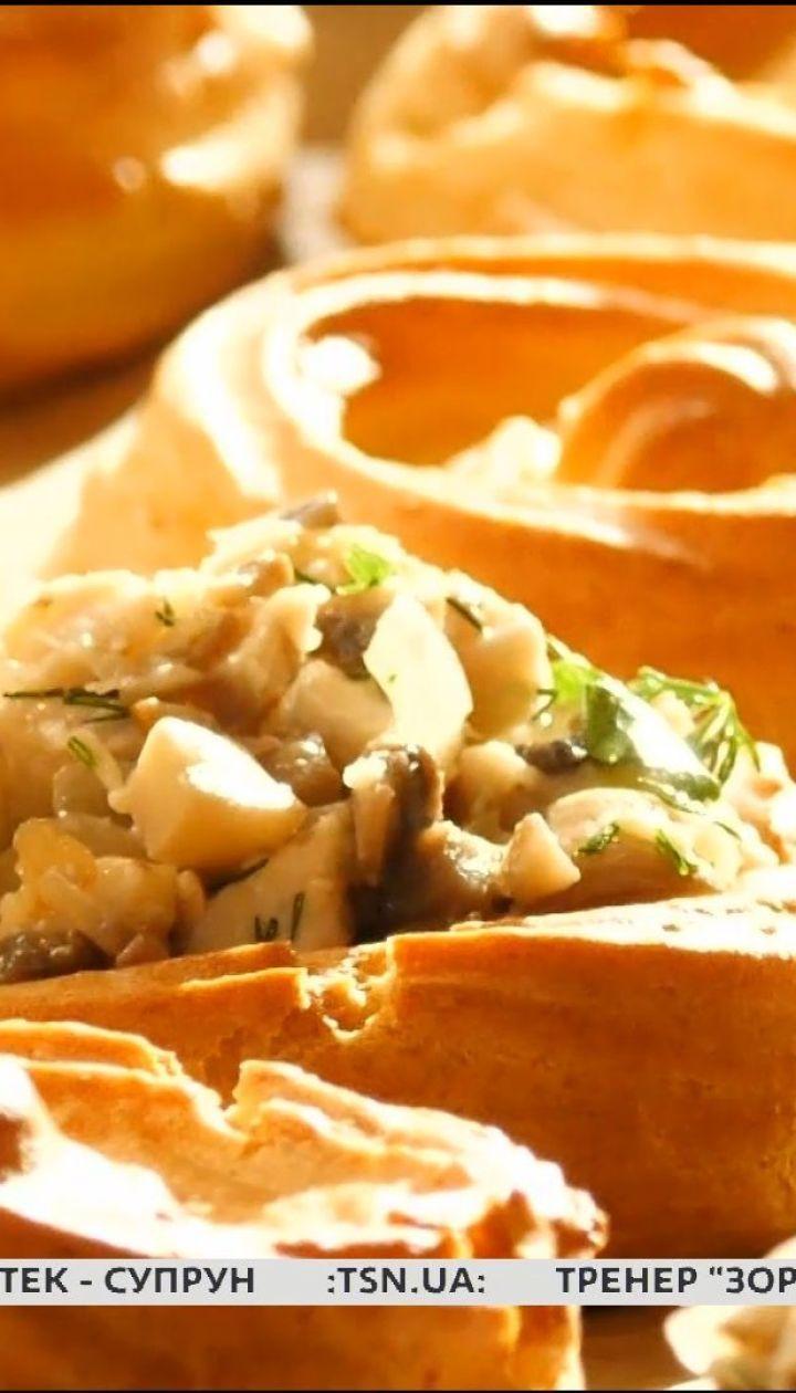 Корзинки из заварного теста на картофельном пюре - Сладкое воскресенье