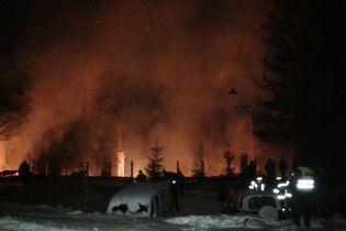 В Карпатах во время пожара в гостинице погиб человек