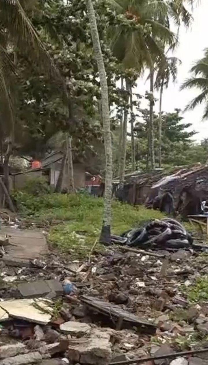 Цунами в Индонезии: число жертв возросло до 281