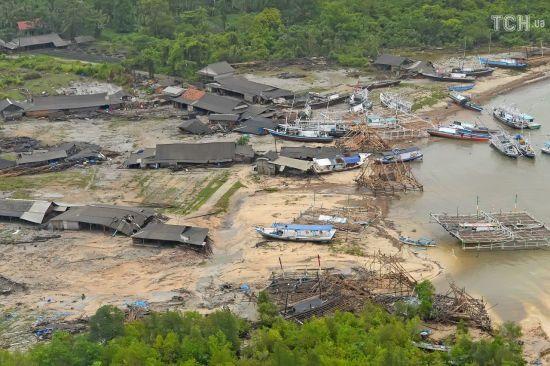 Серед постраждалих від цунамі в Індонезії немає українців – МЗС