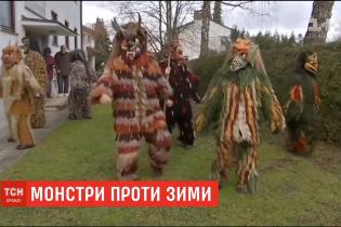 Баварці у костюмах чудовиськ відлякували зиму