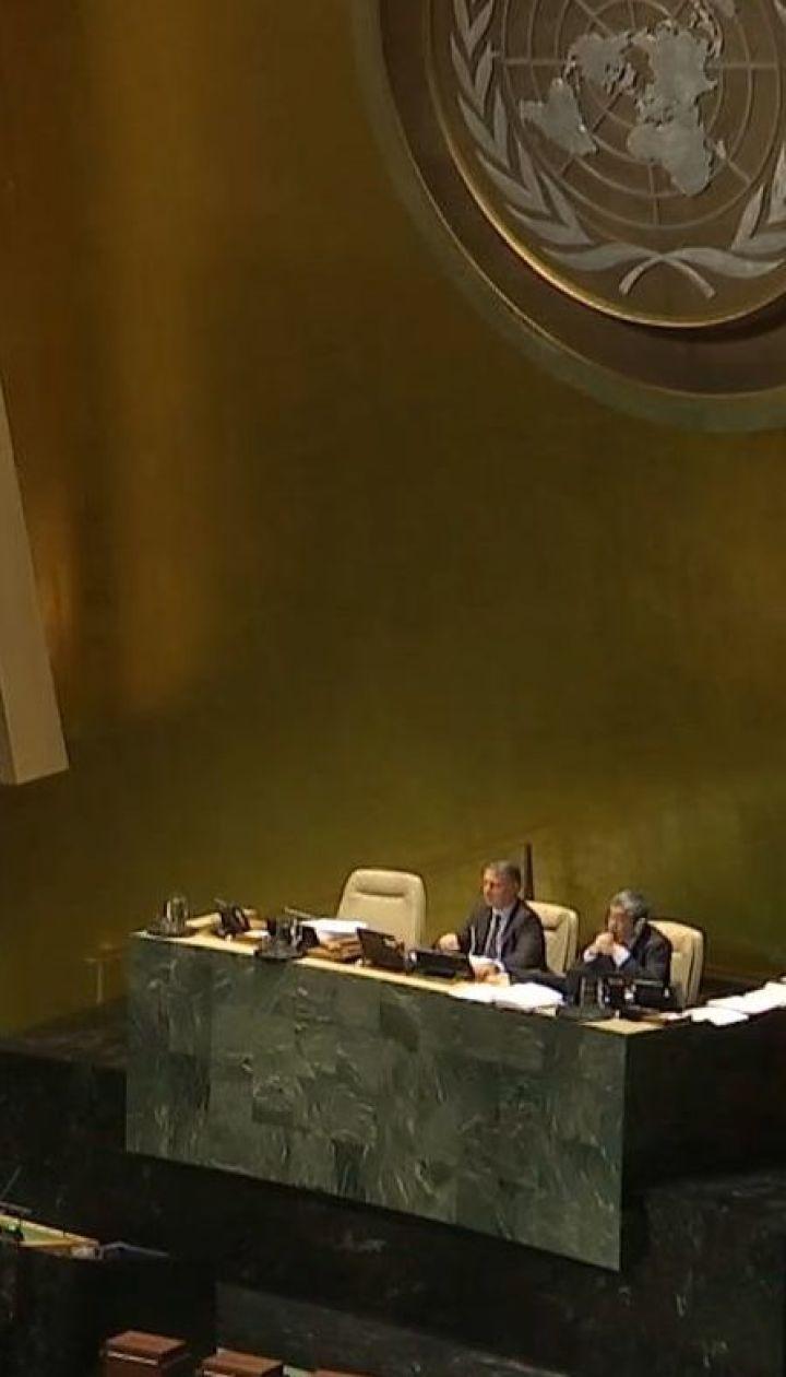 В новой резолюции Генассамблеи ООН по Крыму поименно упомянут Сенцов, Балух и Куку