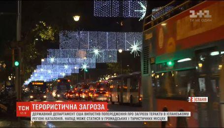 Терористична загроза: Держдеп США закликав американців бути обачними під час свят у Барселоні