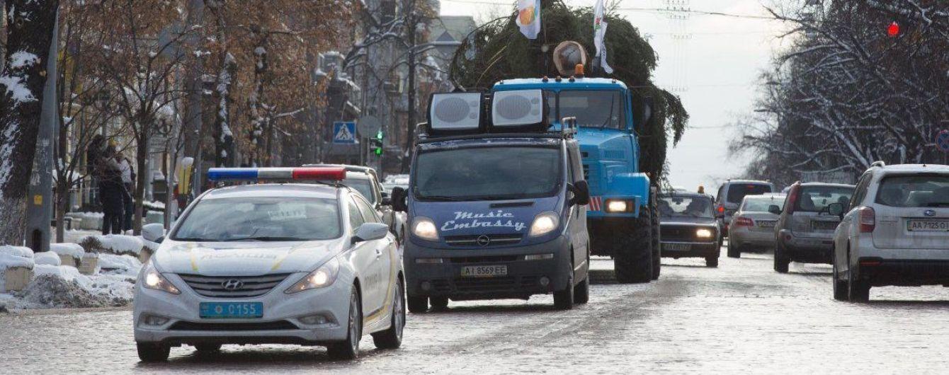 В Киеве перекроют ряд улиц на новогодние праздники. Список
