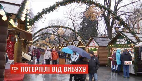 Рождественская ярмарка во Львове частично возобновила работу