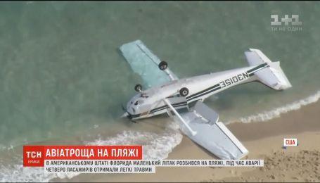 В штаті Флорида розбився легкомоторний літак