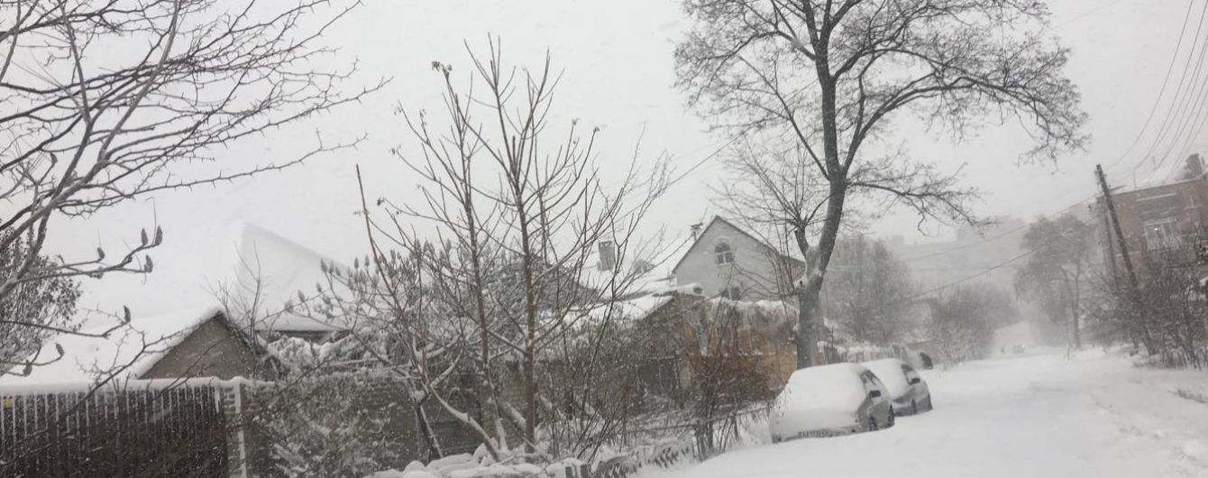 На Закарпатье 16 населенных пунктов остались без света