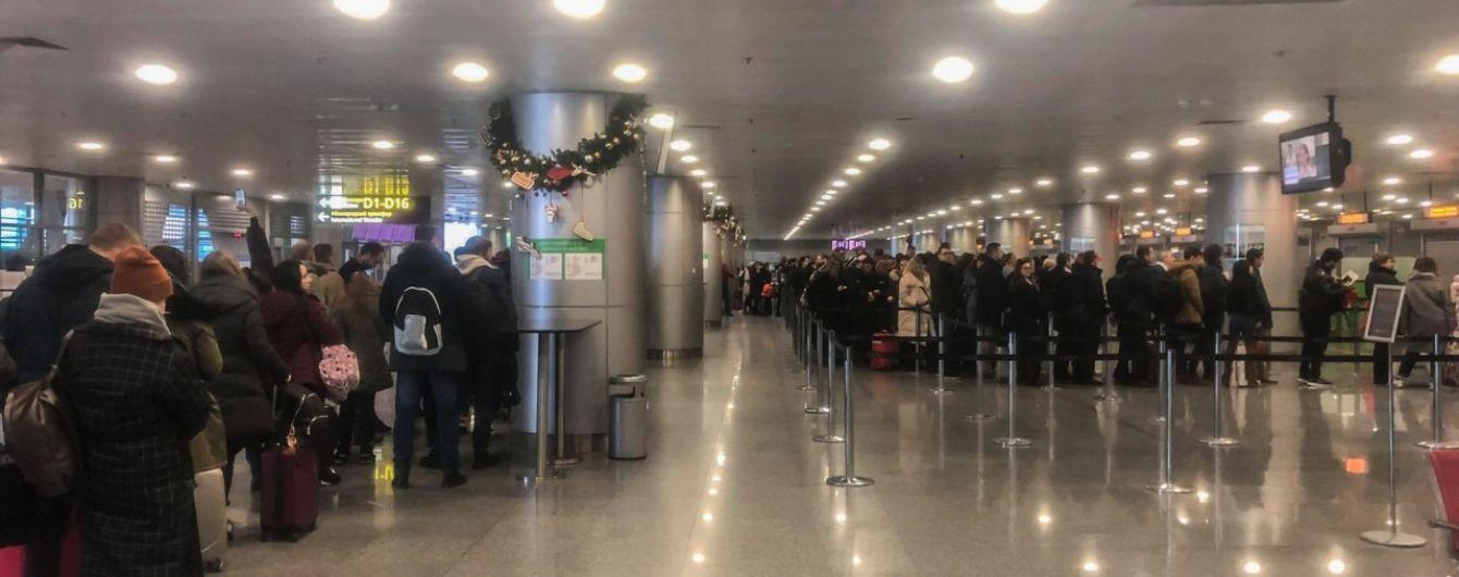 Украинцы заблокировали не только границы, но и аэропорты столицы