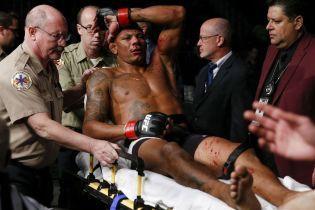 Боєць UFC отримав криваве поранення осколком гранати