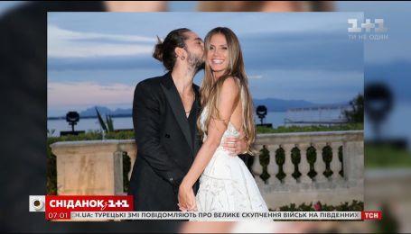 Хайди Клум сообщила поклонникам, что снова выходит замуж