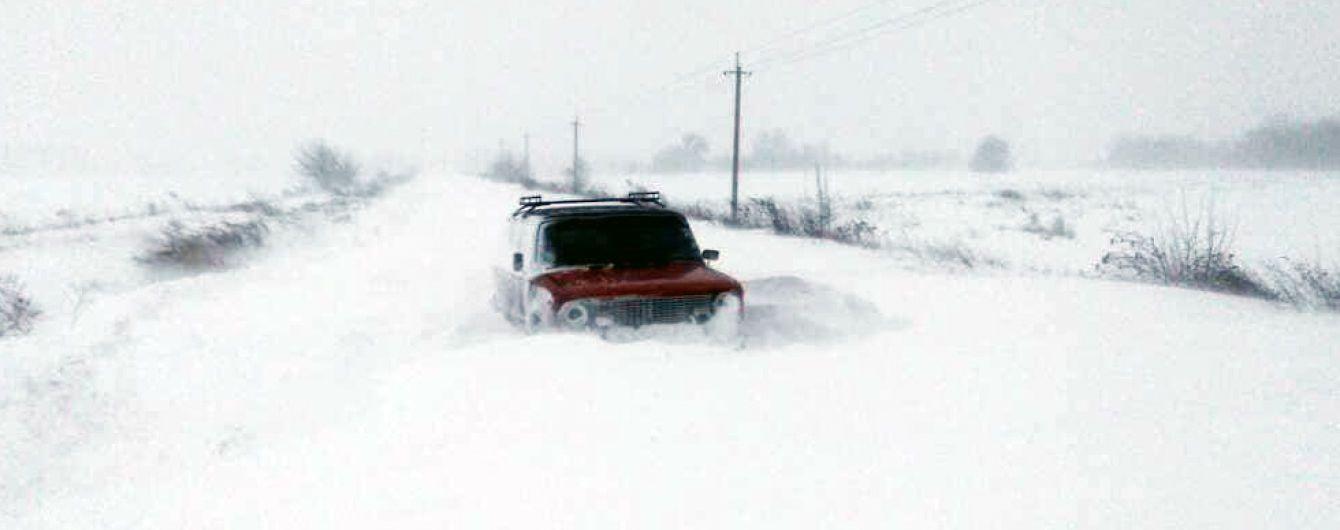 На Україну насувається циклон: синоптики спрогнозували снігову негоду у низці областей