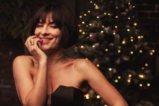 Счастье, елка, декольте: Надя Мейхер поделилась праздничным луком