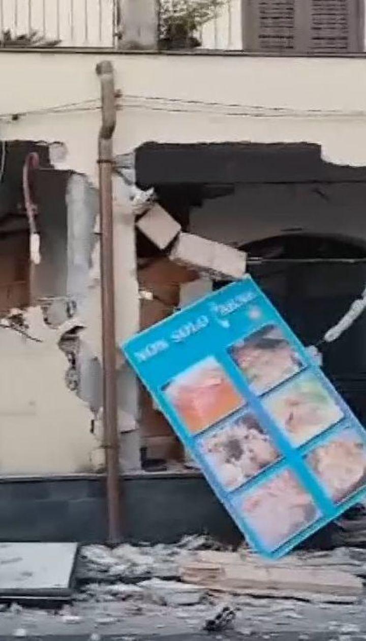 На Сицилії під час землетрусу травмувалися 10 людей