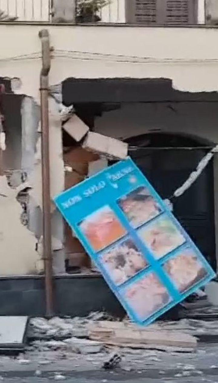 На Сицилии во время землетрясения травмировались 10 человек