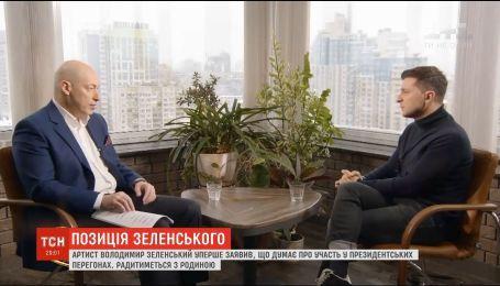 Зеленський вперше заявив про можливу участь у президентських виборах