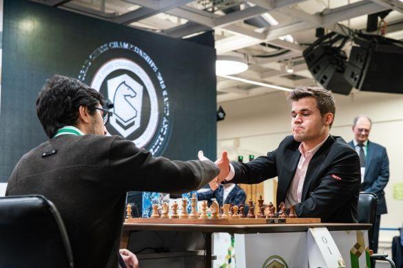 Тухаєв - Карлсен, шахи