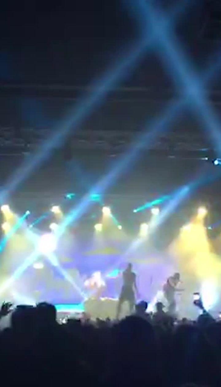 Российский рэпер Элджей успел дать концерт в Киеве до запрета въезда в Украину