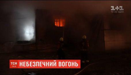 На олійному виробництві у Дніпрі сталася пожежа