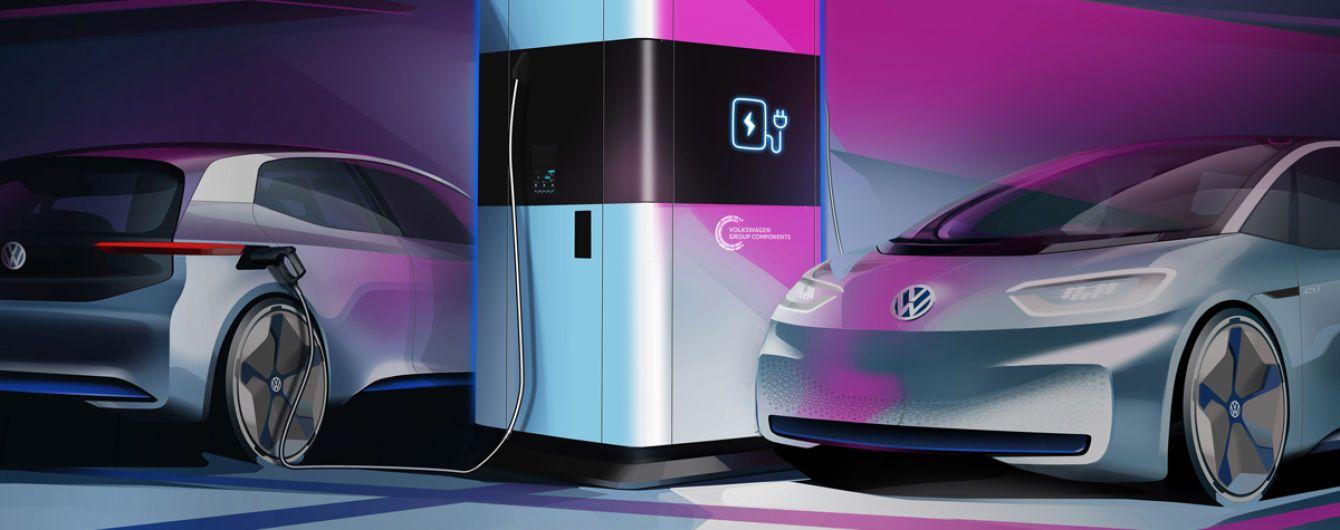 Volkswagen запустила тестовые мобильные зарядки для электрокаров