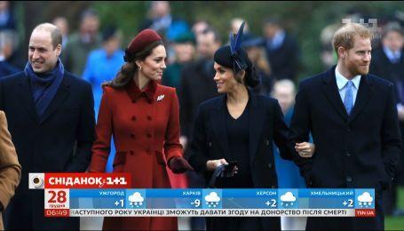 Эксперт по языку тела прокомментировала выход королевской семьи на рождественскую службу