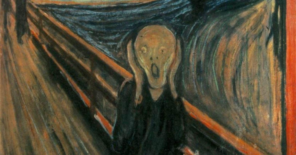 """Выяснили, кто оставил странную надпись на картине """"Крик"""" Мунка"""