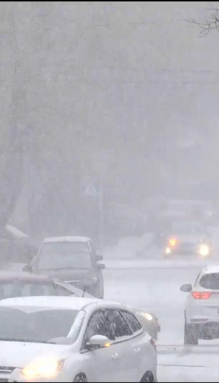 Новый циклон из Европы: синоптики прогнозируют в Украине мокрый снег и дождь