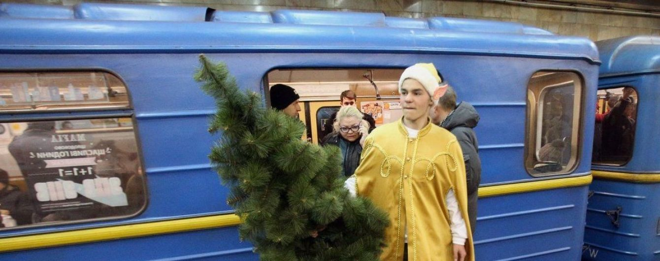 Киевский метрополитен продлит работу в новогоднюю ночь