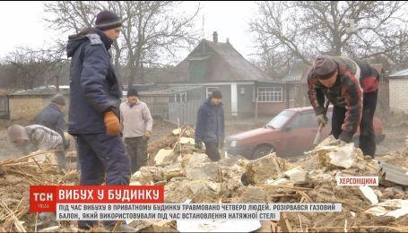 Невдалий ремонт: монтування стелі у приватному будинку на Херсонщині закінчилося вибухом